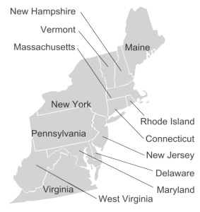 Appraisers in the Northeast region of the United States.