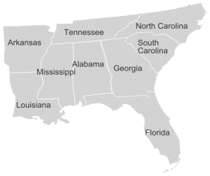 Appraisers in the Southeast region of the United States.